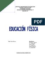 Educacion Fisica- Claimar Gonzalez