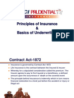 Priciples of Insurance