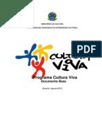 Documento Base - Programa Cultura Viva