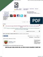 Tutorial [novatos]instalar una rom en lg e510 hub usando cwm recovery - HTCMania.pdf