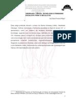 Estudos Para Ciborgues Cic3aancia Tecnologia e Feminismo Socialista Para o Sc3a9culo Xxi