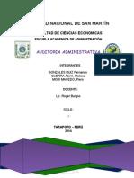 Informe de Auditoria Expo