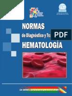 Normas de Diagnostico y Tratamiento en Hematologia
