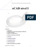Manual de AutoCAD - Nivel I