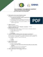 Banco de Preguntas Instituto Quimica Salud