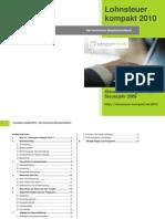Lohnsteuer Kompakt 2010 - Technisches Handbuch