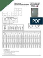 Evaporador de 3 Ton Modelo - PMRE036-R410A