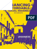 Financing Affordable Housing in Europe