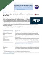 2014 Fisiopatología y Tratamiento Del Dolor de Miembro Fantasma