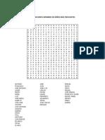 SOPA los 50 nombres de niño