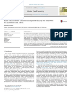 Build It Back Better- Deconstructing Food Security for Improved Measurement and Action