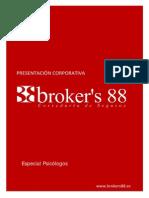 Brokers88 PRESENTACION Psicólogos