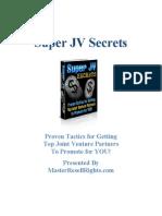 Super JV Secrets