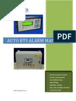 Auto BTS Alarm Manager