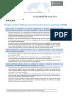TALIS 2013 Nota sobre o Brasil