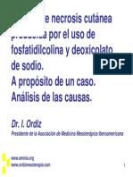 Efectos Destructivos de La Fosfatidilcolina DIAPOSITIVAS