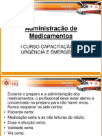 Administracao de Medicamentos