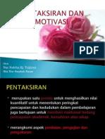 Pentaksiran Dan Motivasi (Bieha & Saadah)