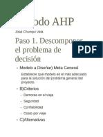 Método AHP