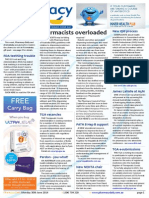Pharmacy Daily for Mon 30 Jun 2014 - Pharmacists overloaded, Community pharmacy focus, James LaValle at A5M, Weekly Comment and much more