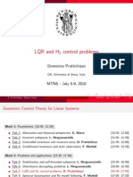 LQR and H2 Control Problems