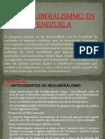 El Neoliberalismmo en Venezuela