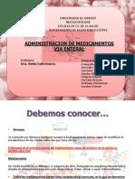 Administracion de Medicamentos via Enteral Final Listas