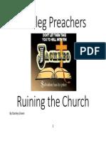 Jackleg Preachers Ruining the Church