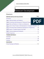 Children and Adolescent Development