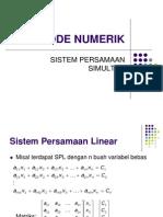 4 Sistem Persamaan Simultan