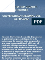 Proyecto Red Gigabit-ethernet