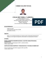 Curriculum Omar Becerra