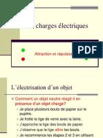 3 Charges Électriques