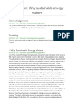 OpenLearn why sustainable energy matters
