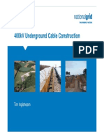 National Grid Underground Cable Construction Presentation FINAL