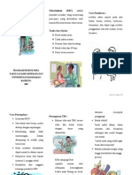 Leaflet Tuberkulosis Paru (TBC)