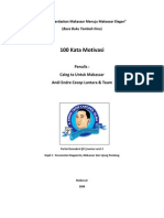 eBook 100 Kata Mutiara- A. Endre Cecep Lantara