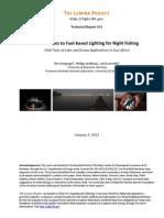 Lumina Tr11 Night Fishing
