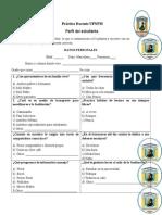 Diagnostico Perfil Estudiante