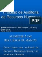 4.2 Proceso de Auditoria de Recursos Humanos
