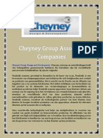 Cheyney Group Associate Companies
