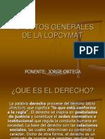 Aspectos Generales de La Lopcymat