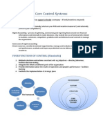 Enterprise Performance Management -Core Control Systems