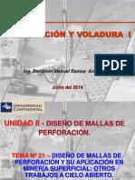 Perforacion y Voladura I- Tema 21