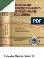 Prausnitz - Molecular Thermodynamic Fluid-Phase Equilibria(3°ed)