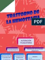 Trastorno de La Hemostasia[1]