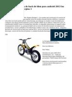 carrera de bicicleta de hack de bbm para android 2013 los Artículos - Página 1