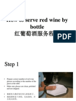 1 How to Serve a Bottle of Red Wine