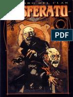 Vampiro La Mascarada - Libro Del Clan Nosferatu