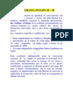 Inglés 18 -30